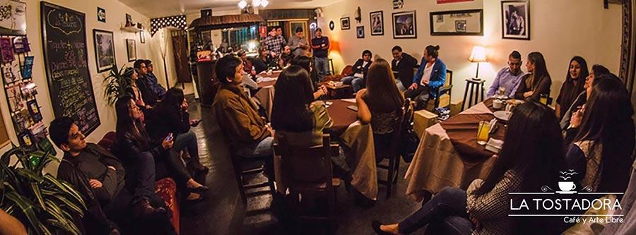 La Tostadora - Café y Arte Libre