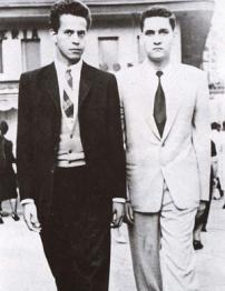 César Calvo y Javier Heraud
