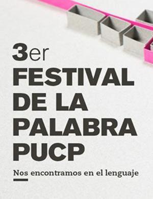 3er Festival la Palabra PUCP
