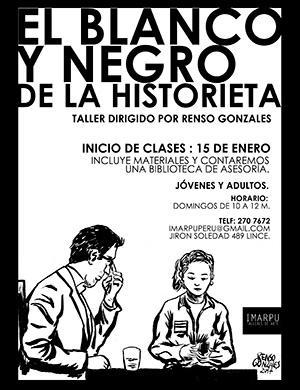 El Blanco y Negro de la Historieta